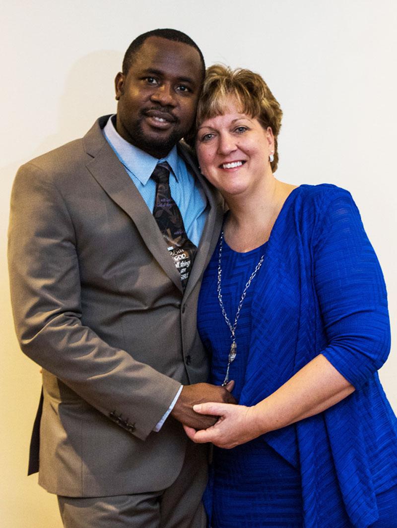 Pastor Emmanuel Echidime and Wife Sondra