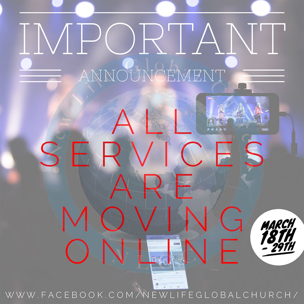 IMPORTANT: All Services Are Moving Online